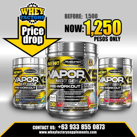 PROMO Vapor X5 Next gen 30 servings