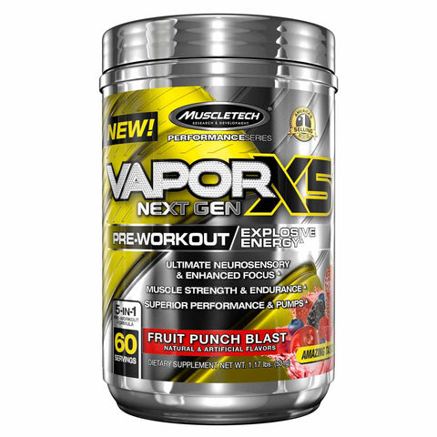 Muscletech Vapor X5 Next Gen 60 servings