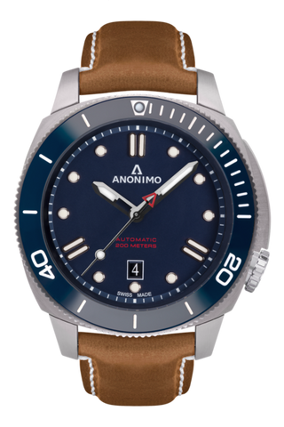 Auto - Steel Case Blue Dial