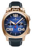 Chrono - Bronze Case Blue Dial