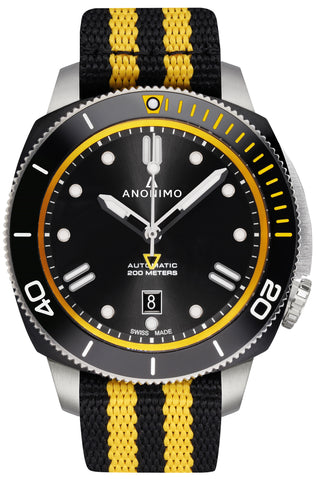 Anonimo Nautilo yellow watch