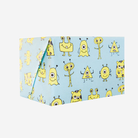 Aliens Wrapping Paper