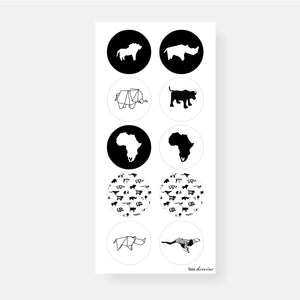 Big Five Sticker Sheet
