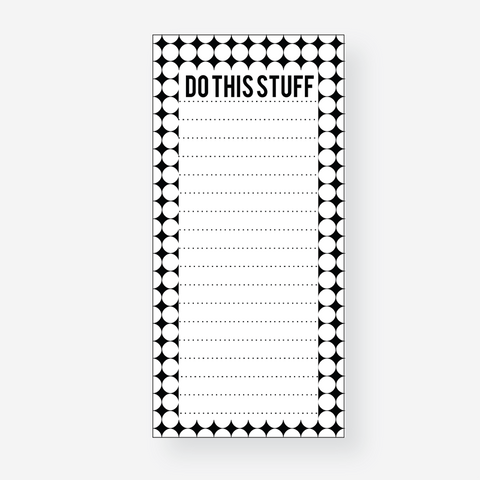Do This Stuff Notepad