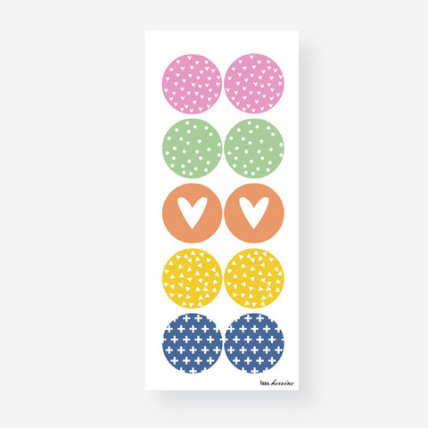 Pattern Gifting Sticker Sheet