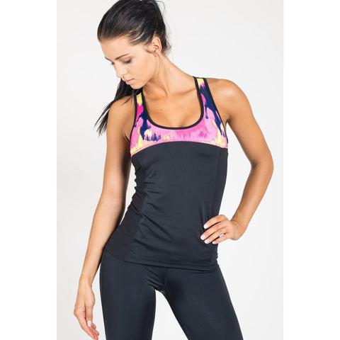 Tank Top - Stella-Maris Black/Multicolor