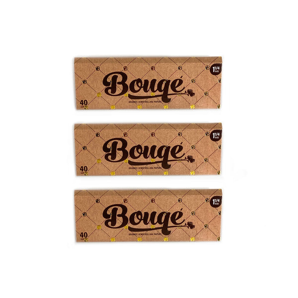 1 1/4 Sized Rolling Papers - 3 pack