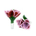 Pink Tulips Double Bowl Piece