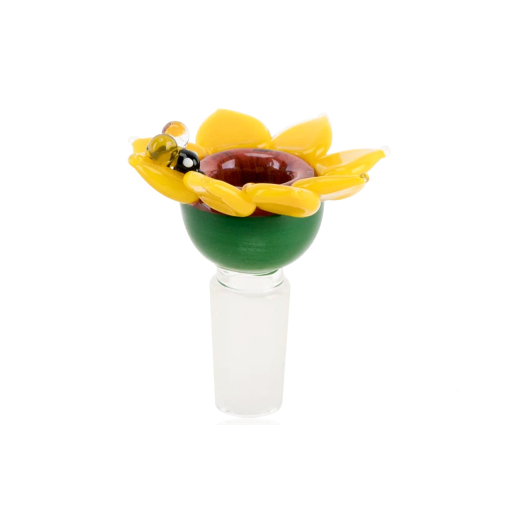 Sunflower Bowl Piece