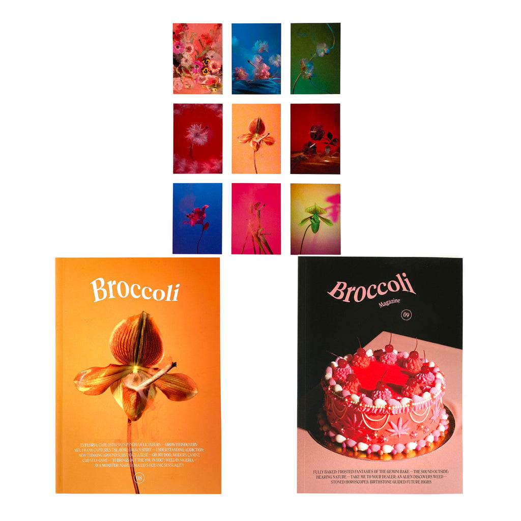 Broccoli Bundle: 2 Issues + 9-Pack of Postcards