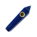 Blue Goldstone Crystal Pipe