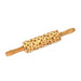 Leaf-Embossed Rolling Pin