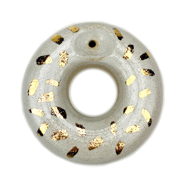 Ceramic - Donut - White w/ Sprinkles