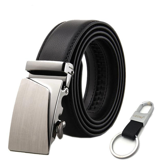 Black Belts For Men-Belts-Online GMall-Belt 10-110cm-Online GMall