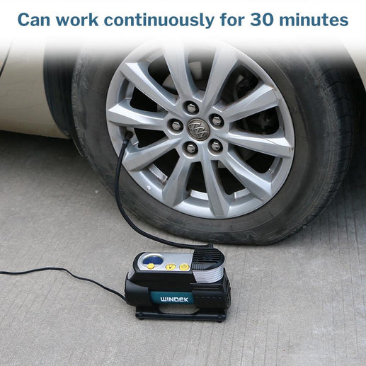 Car Emergency Portable Air Compressor-Compressor-Online GMall-China-Black-Online GMall