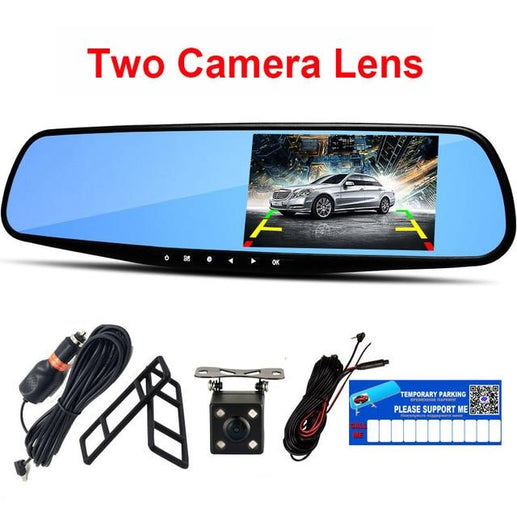 Car Full HD 1080P Dvr Camera-DVR-Online GMall-Dual Camera Lens-China-No TF Card-Online GMall