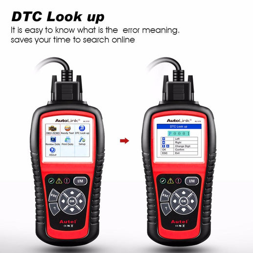 Car OBD2 DTC Reader-OBD2 Scanner-Online GMall-English-Online GMall
