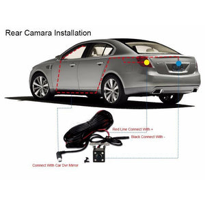 Car Rear View Dvr Camera-DVR Camera-Online GMall-One Camera Lens-China-No TF Card-Online GMall