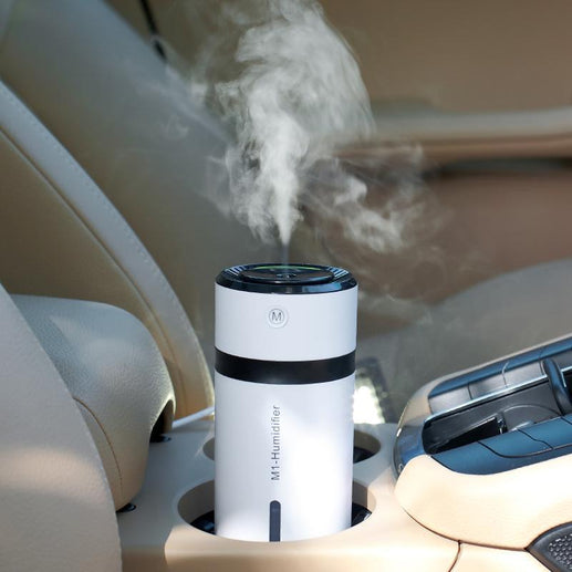 Car USB Mist Discharge Humidifier-Humidifier-Online GMall-Black-China-Online GMall