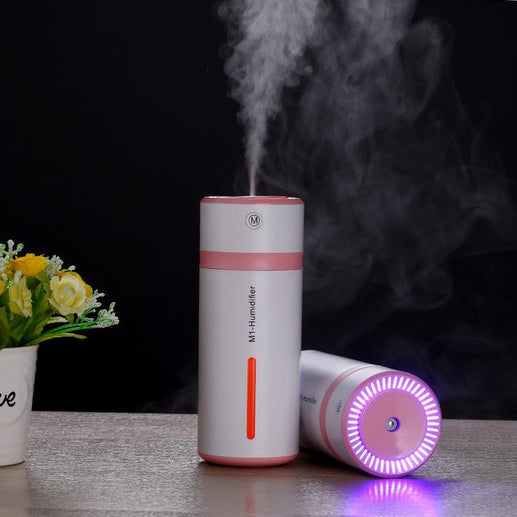 Car USB Mist Discharge Humidifier-Humidifier-Online GMall-Pink-China-Online GMall