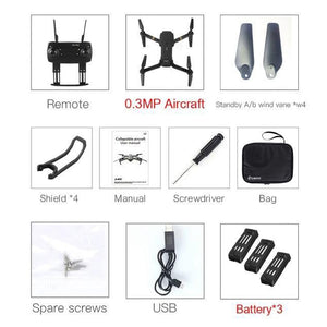 Foldable Drone Eachine-Drone-Online GMall-0.3MP3Batterywithbag-China-Online GMall