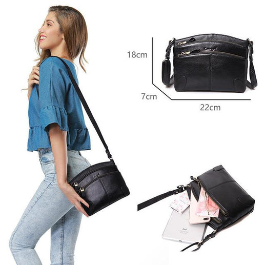 Genuine Leather Bag for Women-Shoulder Bag-Online GMall-0910006-A-5-China-Online GMall