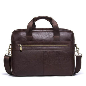 Genuine Leather Briefcase Bags For Men-Leather Bag-Online GMall-coffee-China-Online GMall
