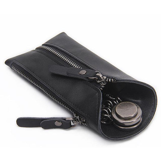 Genuine Leather Key Holder-Key holder-Online GMall-black-China-Online GMall