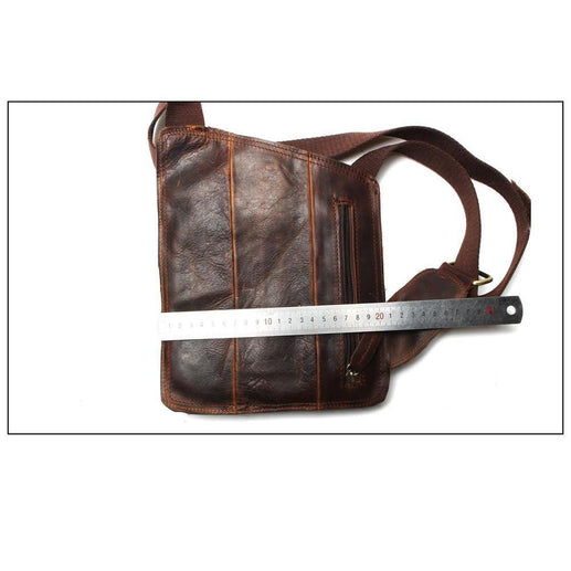 Genuine Leather Messenger Bags For Men-Messenger Bag-Online GMall-brown-Online GMall