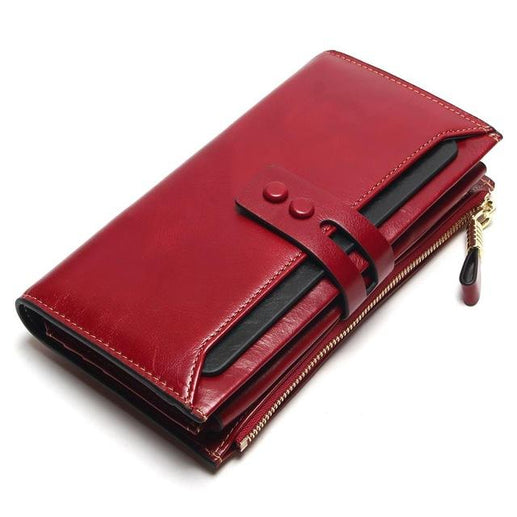 Genuine Leather Wallets for Women-Wallet-Online GMall-Wine-Online GMall