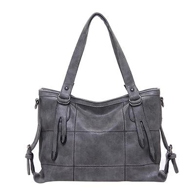Luxury Handbags for Women-Handbag-Online GMall-Gray1-China-35x13x25cm-Online GMall