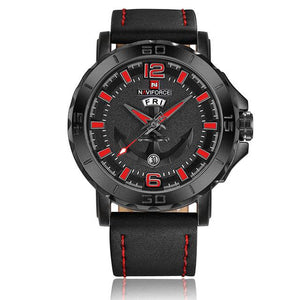 Men Sports Watches-Watches-Online GMall-Black Red-Online GMall