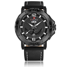 Men Sports Watches-Watches-Online GMall-Black White-Online GMall