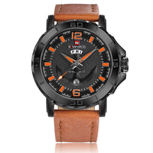 Men Sports Watches-Watches-Online GMall-Black Orange-Online GMall