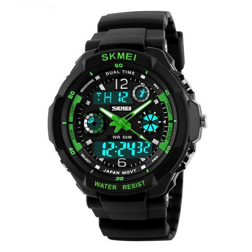 Men's Analogue and Digital Watches-Watches-Online GMall-Green-Online GMall