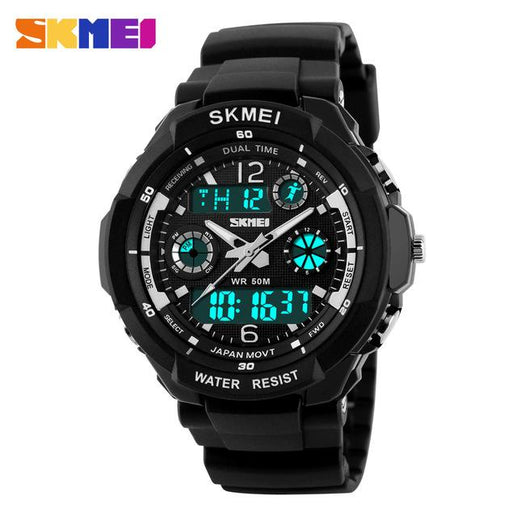 Men's Analogue and Digital Watches-Watches-Online GMall-Silver-Online GMall
