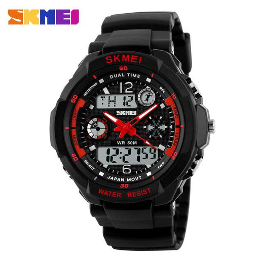Men's Analogue and Digital Watches-Watches-Online GMall-Red-Online GMall