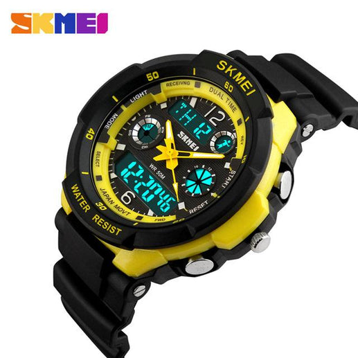 Men's Analogue and Digital Watches-Watches-Online GMall-All Yellow-Online GMall
