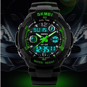 Men's Analogue and Digital Watches-Watches-Online GMall-Blue-Online GMall