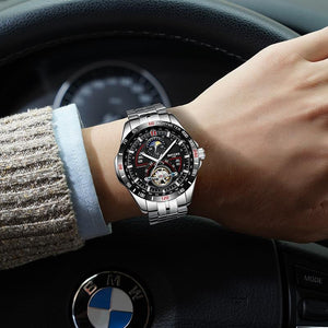 Men's Automatic Watch-Watches-Online GMall-Black-Online GMall