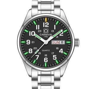Men's Business Watch Tritium-Tritium Watch-Online GMall-black green-Online GMall