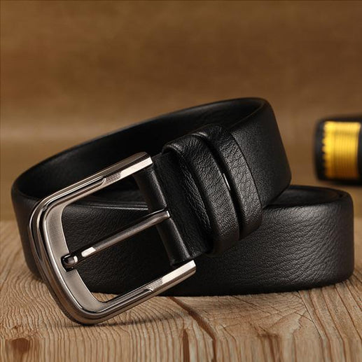 Men's Genuine Leather Belt 2 pack-Leather Belt-Online GMall-Online GMall
