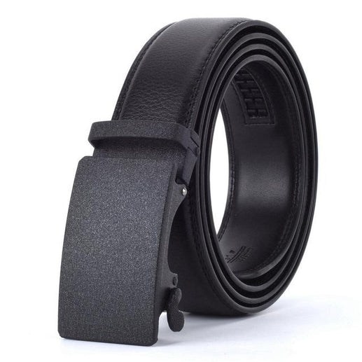 Men's Genuine Leather Belt-Leather Belt-Online GMall-Q-110cm-Online GMall