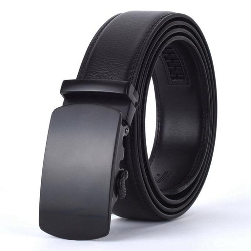 Men's Genuine Leather Belt-Leather Belt-Online GMall-J-110cm-Online GMall