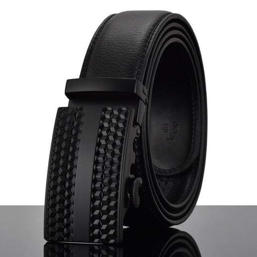 Men's Genuine Leather Belt-Leather Belt-Online GMall-Y-110cm-Online GMall