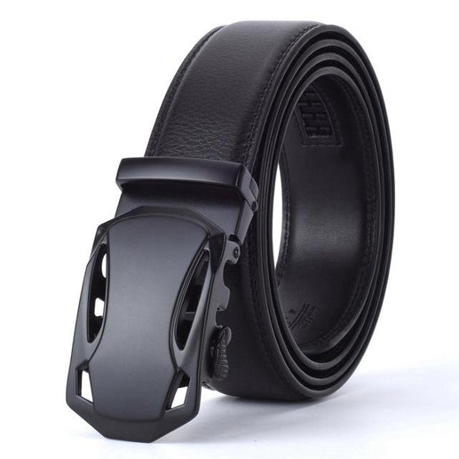 Men's Genuine Leather Belt-Leather Belt-Online GMall-K-110cm-Online GMall