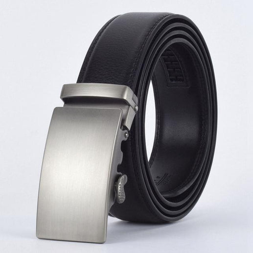 Men's Genuine Leather Belt-Leather Belt-Online GMall-E-110cm-Online GMall