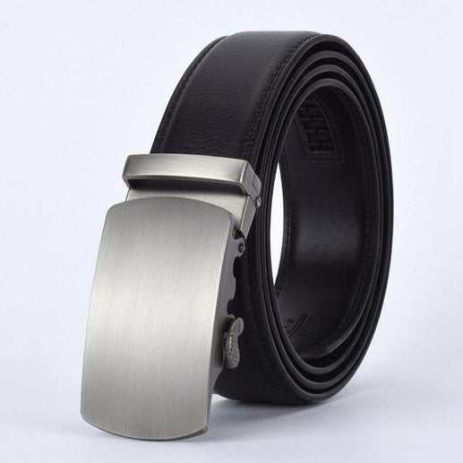 Men's Genuine Leather Belt-Leather Belt-Online GMall-P-110cm-Online GMall