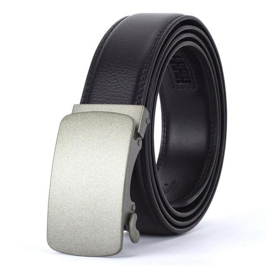 Men's Genuine Leather Belt-Leather Belt-Online GMall-O-110cm-Online GMall
