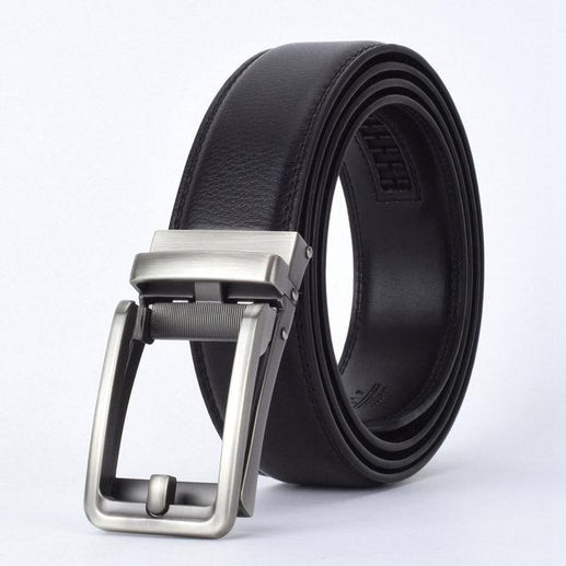 Men's Genuine Leather Belt-Leather Belt-Online GMall-D-110cm-Online GMall